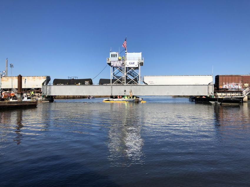 Movable span merit winner: Bayou Sara Swing Bridge, Mobile County, Ala. (HDR photo)