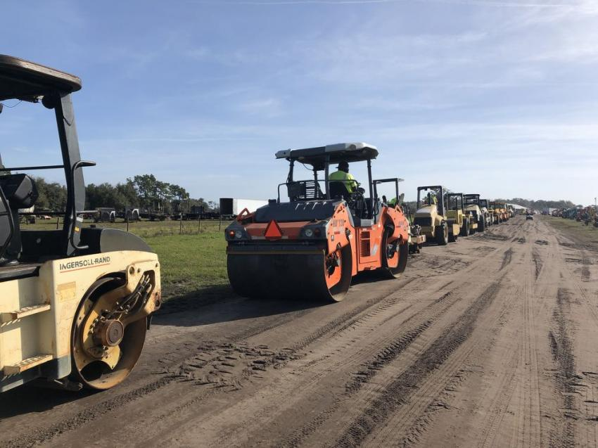 The economy is booming and the demand for paving equipment is very strong. Now with renewed interest in a highway bill, demand is  even stronger.