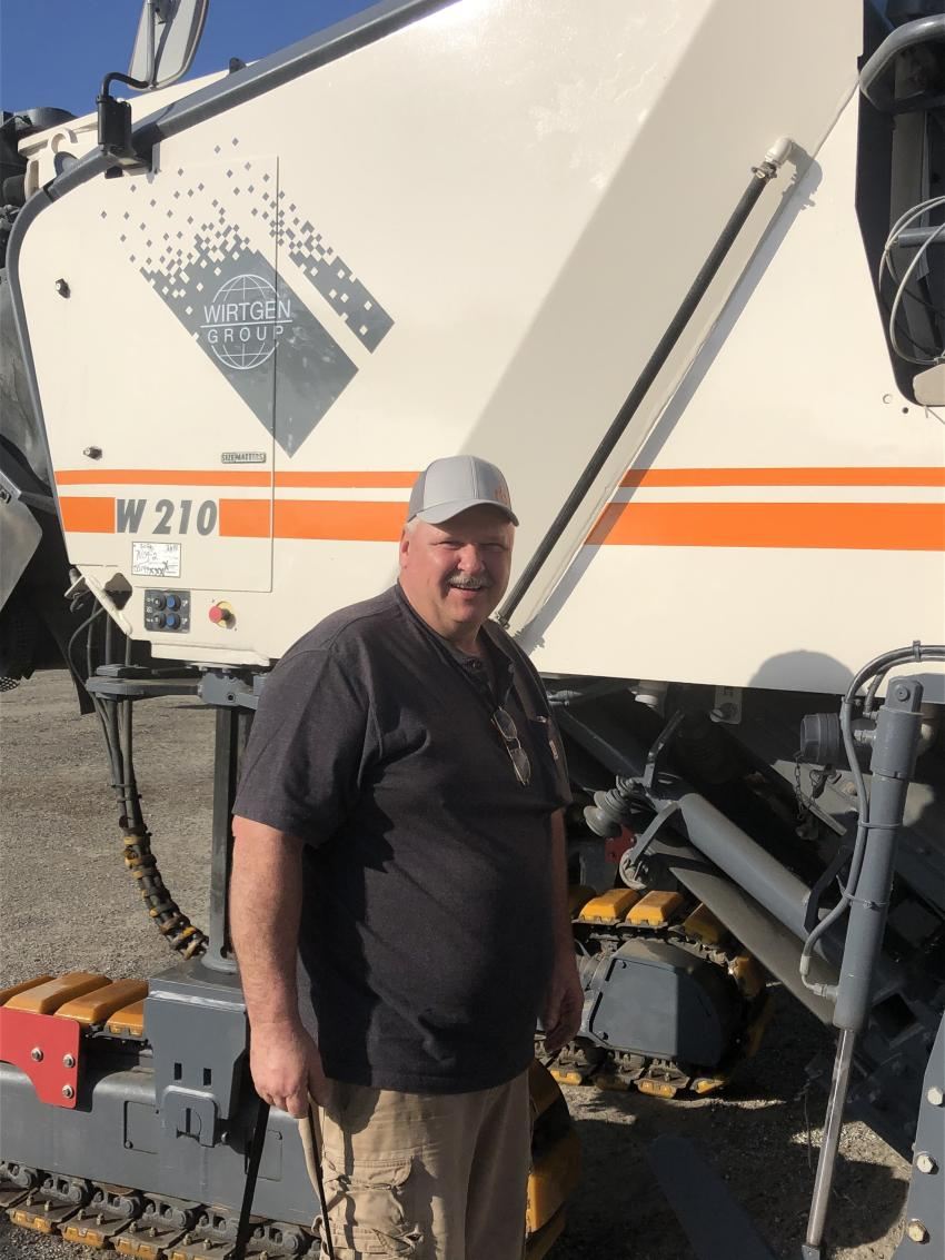 Jack Wierzba of New Frontier Excavation and Paving in Buffalo, N.Y., came to Orlando hoping to to expand  his fleet of milling and paving equipment.