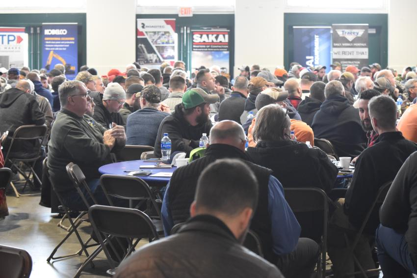 Hundreds of paving professionals from across the Empire State gathered for the informational workshop provided by Tracey Road Equipment and its suppliers.