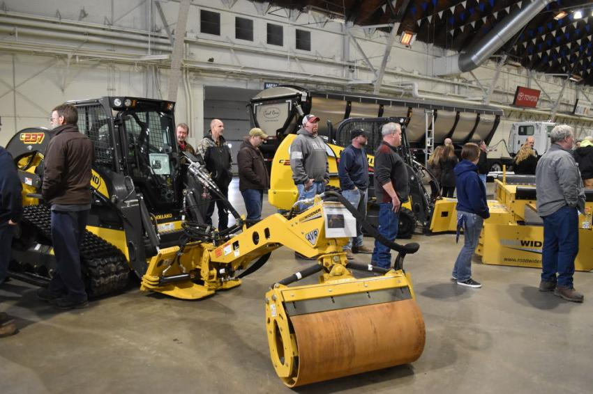 New Holland skid steers give the paving contractor a Swiss Army knife variety of attachments to work from, including brooms, offset rollers, road wideners, milling heads and much more.