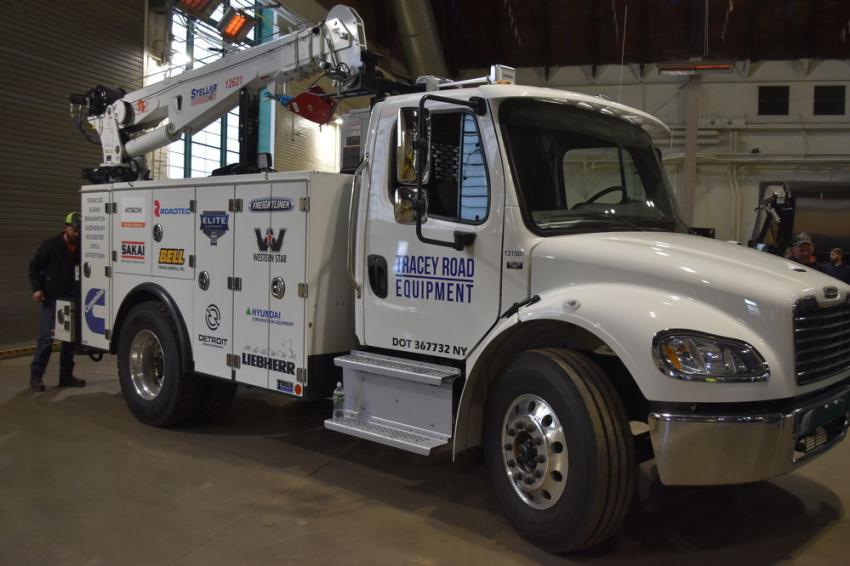 Tracey Road Equipment has long been known for its ability to keep customers up and running.  The company's fleet of modern service trucks demonstrates its commitment to customer support.