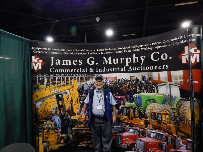 Logging and auction industry legend, Andy Taylor, VP manager, Oregon operations of James G. Murphy, Kenmore Wash., covering all of your auction needs in the Pacific Northwest since 1970.
