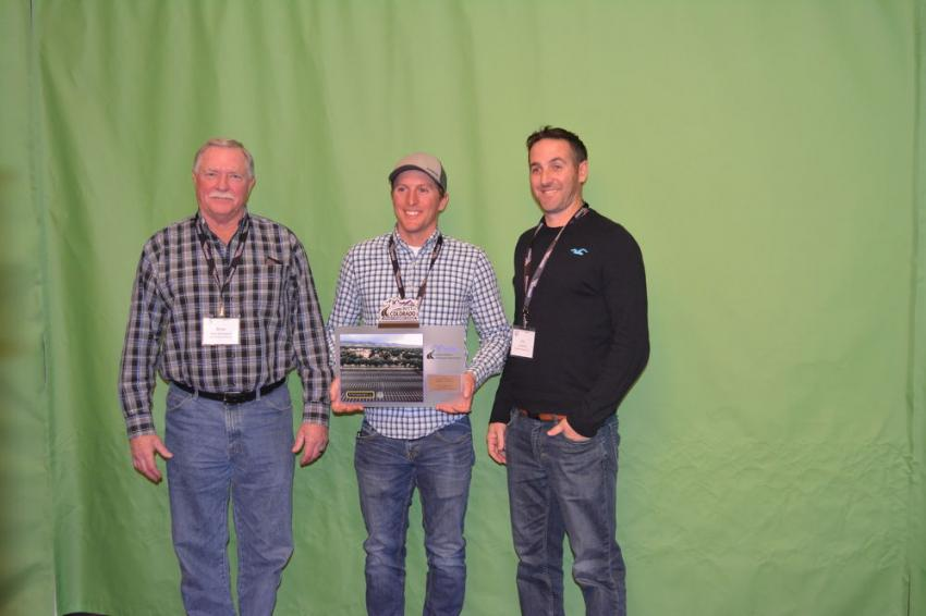 Recognized in the Commercial Parking Lot category for its work at Colorado State University was Connell Resources. (L-R): Brian Neegaard, Andrew Schall and Eric Marsh.