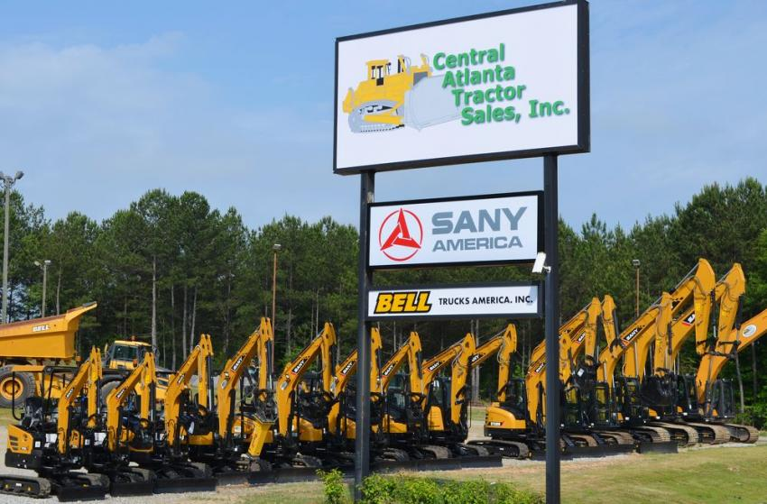 The new Central Atlanta Tractor Sales facility is located at 4240 Martin Luther King Jr. Drive SW, Atlanta, GA.