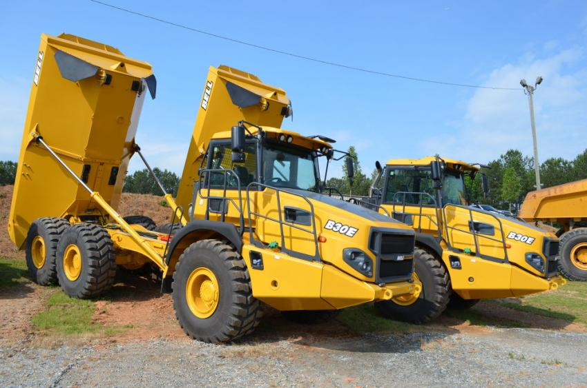 Bell Trucks is another premier product line sold and serviced at Central Atlanta Tractor.