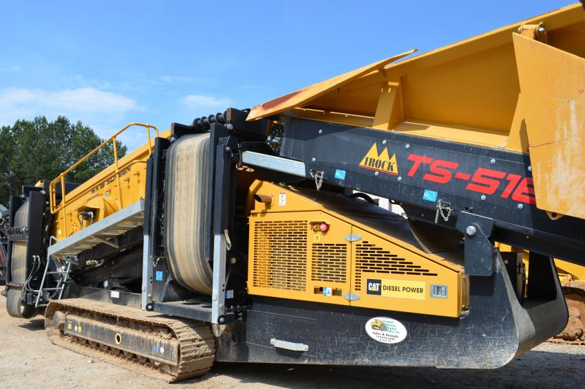 IROCK products are available for sale or rent at Central Atlanta Tractor.