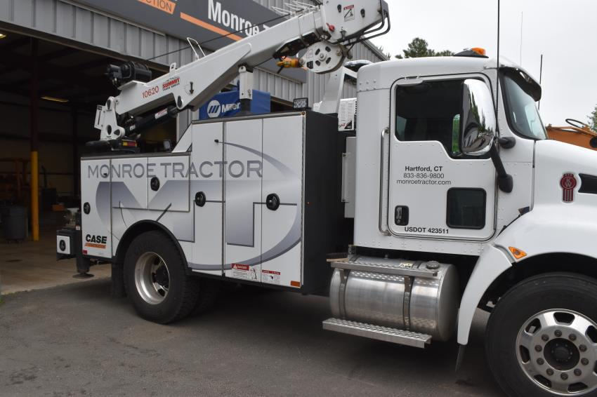 Monroe Tractor has invested in a fleet of service trucks that are fully equipped to keep customers' machines up and running and to respond to service calls in a timely manner.