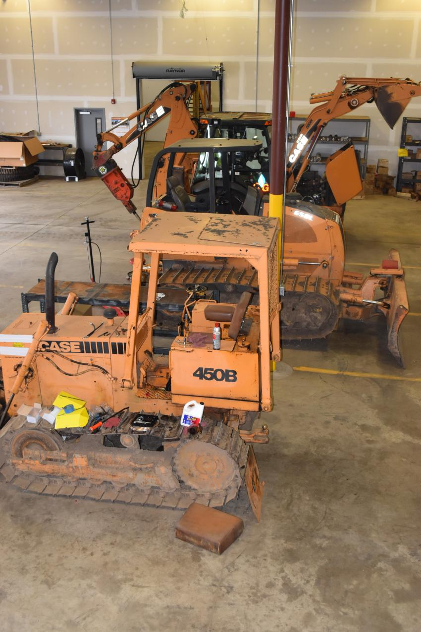 The expansive Monroe Tractor shop has all of the tooling needed to keep fleets up and running.