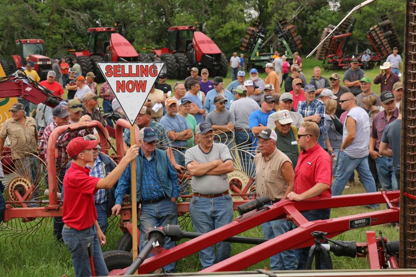 The Steffes Group will return to live auctions when bidders gather in Horace, N.D., on July 8.
