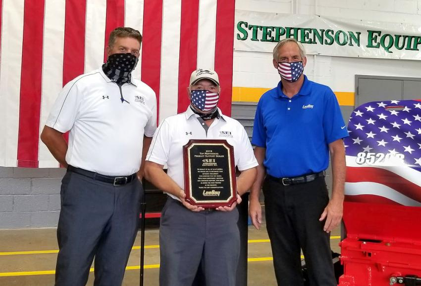 2019 Top Performing Product Support Dealer: Stephenson Equipment Inc.