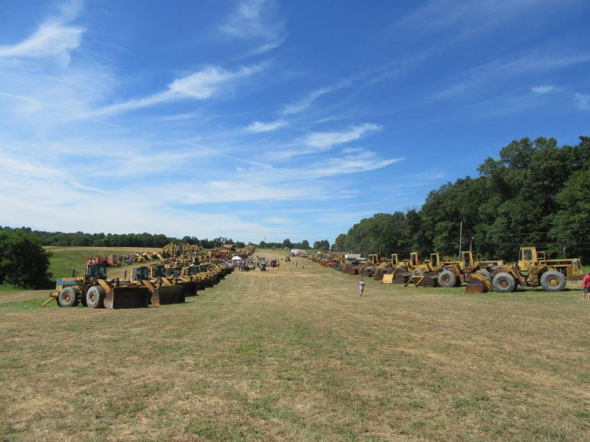 The CCU Coal & Construction auction featured a wide range and strong selection of equipment.