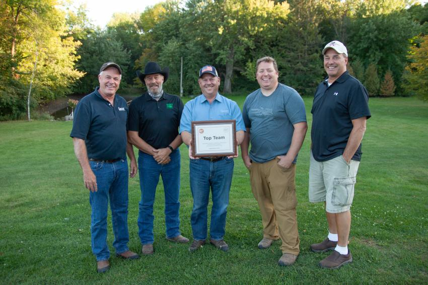 Team Grazzini #1 took home the Top Team award at the AGC of Minnesota Foundation's 2020 Sporting Clays Fundraiser.