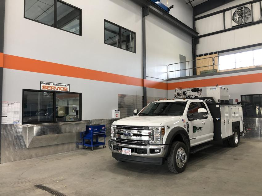 Barry Equipment continues to invest in its fleet of service trucks so whenever possible fleets can be serviced or repaired on site.