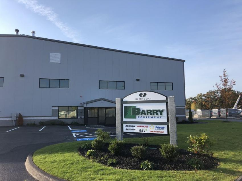 Barry Equipment is located at 7 Harry's Way, Webster Mass.