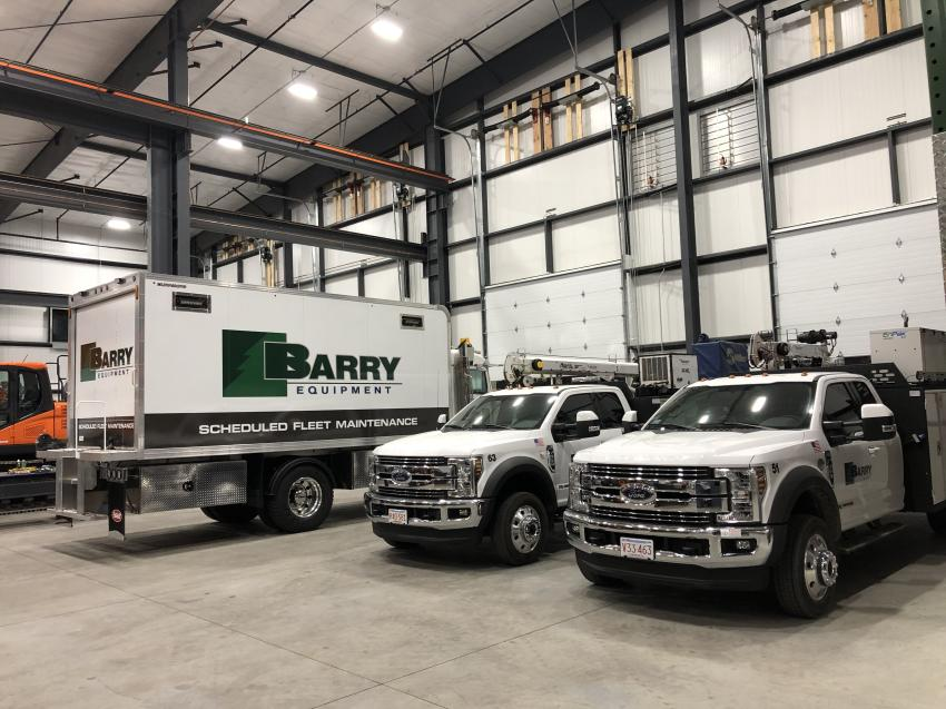 Barry Equipment's new hydraulic hose shop is equipped to create hydraulic hoses for nearly all makes and models of equipment.