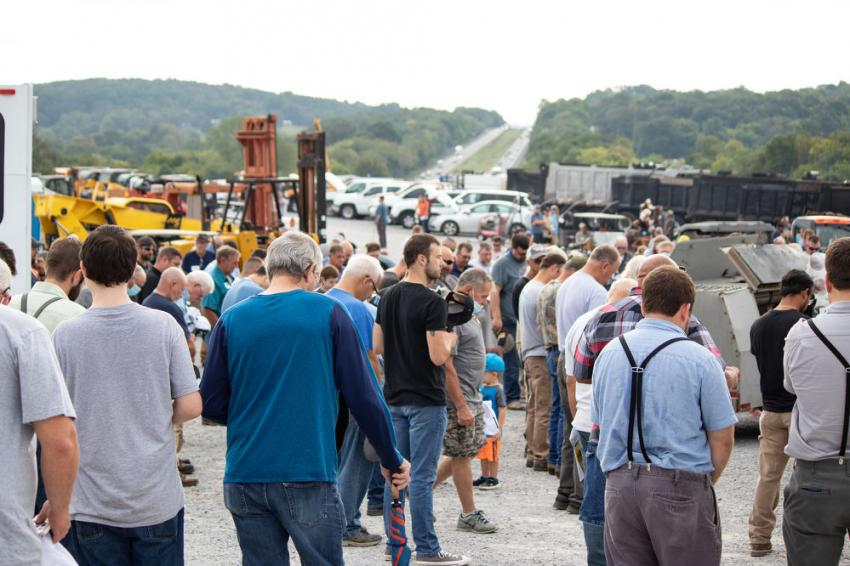 Ritchason's onsite auction on Sept. 12 brought in a total of more than 900 bidders, including 345 online.