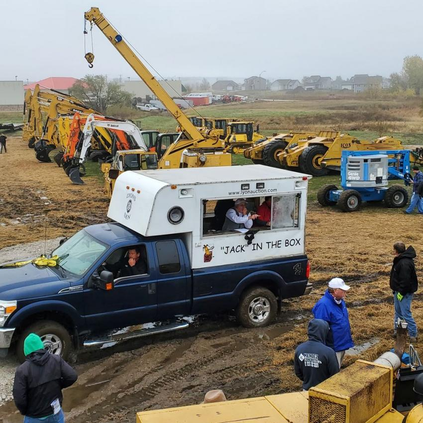 The auction was run by Alex Lyon & Son. It included items from Mid Country's late model rental fleet to make room for new 2021 equipment. It also featured equipment from a recently-completed job from CornerStone excavating.
