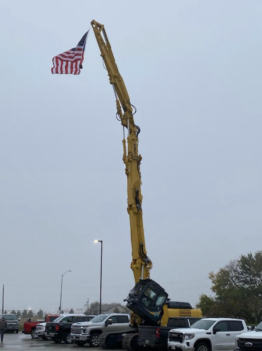 Mid Country Machinery held its first open house at its Bondurant, Iowa, location on Oct. 22.