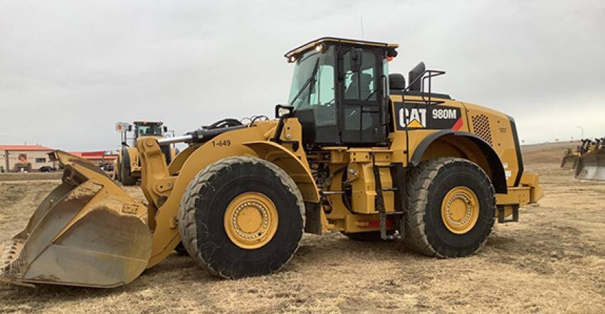 Orlando's biggest ticket wheel loader was this 2015 Caterpillar 980M (lot #969V) that sold for $272,500 to a buyer from Massachusetts.