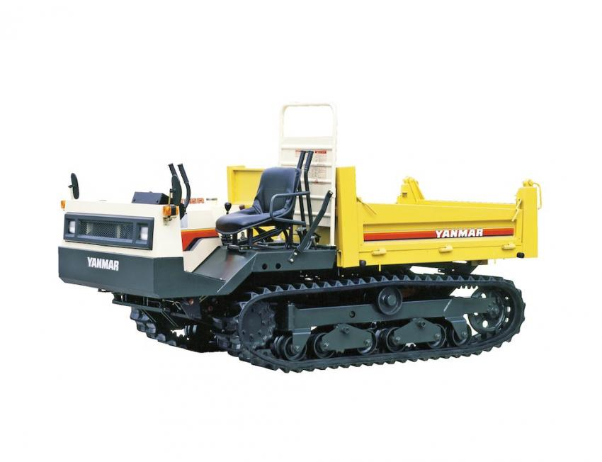 1985: Yanmar developed a rubber crawler that achieved a speed of 11 km/h, about  twice  the  speed  of  conventional  crawlers. The high-speed YFW25R carrier was a hit product that also featured the industry's first reverse seat and was the prototype for the C30R model that is still sold today.