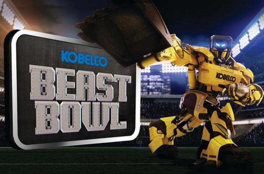 """The game, which has been in development since mid-2013, is designed to showcase the Kobelco Beast and is appropriately called """"The Beast Bowl""""."""