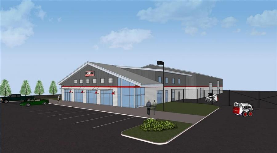 An artists rendition of the new facility.
