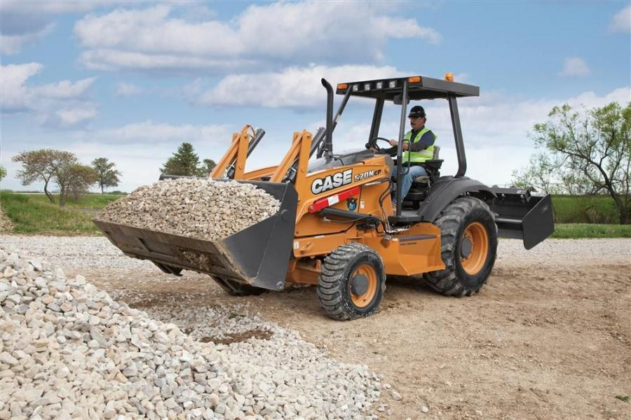 The 570N EP is one of the most steady and operator-friendly loaders in the industry.