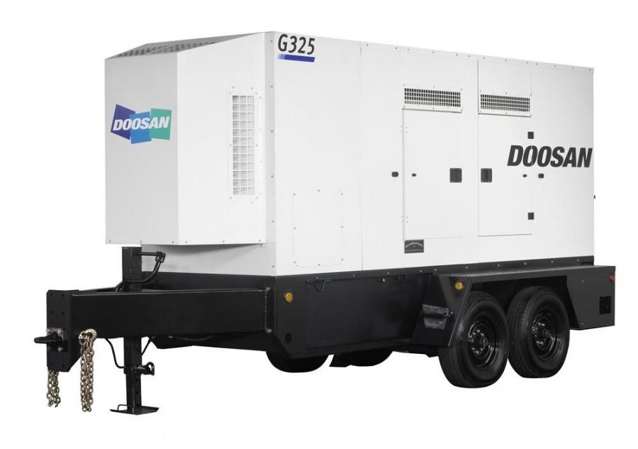 The G150, G190, G240 and G325 mobile generators are new to the lineup of 10 Doosan models ranging from 25 to 570 kVA and became available Dec. 1, 2011.