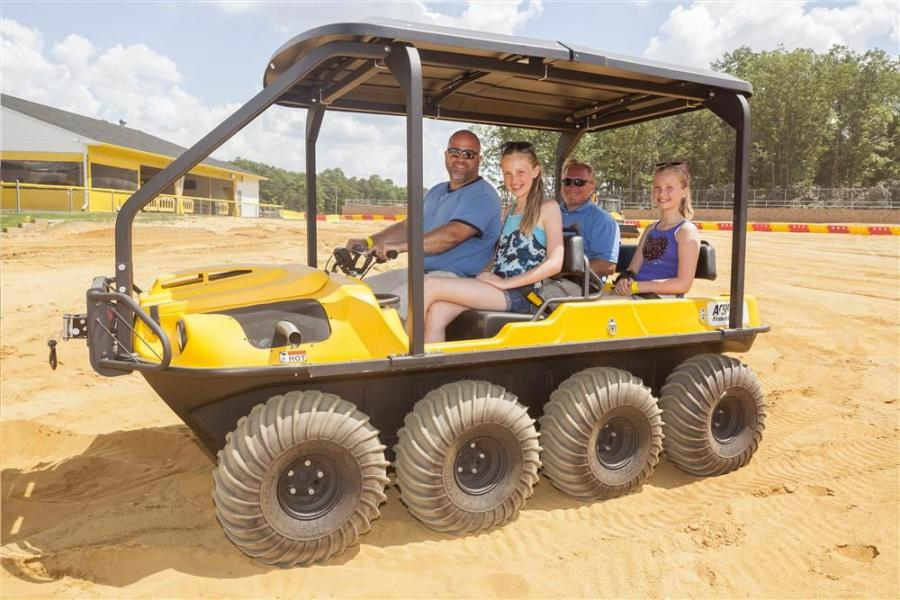 Guests can operate the ARGOs as early as Friday, June 19 as Diggerland is now open everyday through Labor Day for the summer.