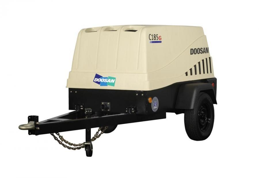 The C185G offers contractors the cost savings of a gas-powered model with the durability of a diesel-powered unit.