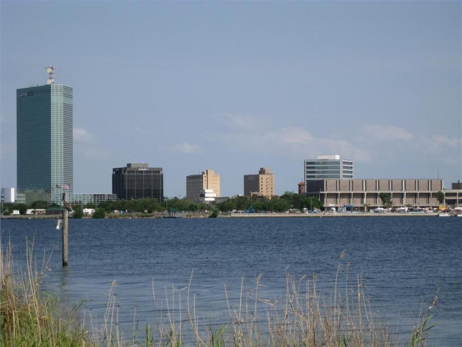 The cityscape of Lake Charles, LA, is in flux.