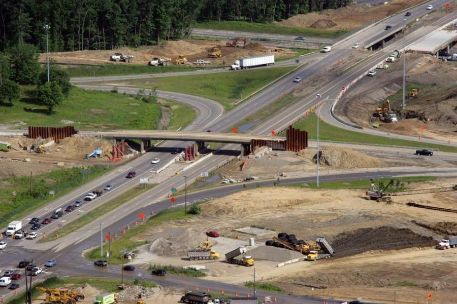 When completed, the new interchange will connect the I-80/Ohio Turnpike with Hines Hill and Boston Mills roads.