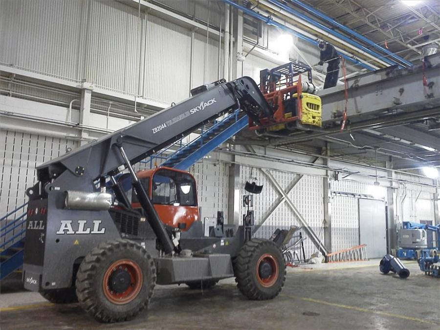 ALL Erection & Crane Rental Corp. has acquired two new 20,000-lb. (9,072 kg)-capacity Skyjack ZB2044 telehandlers, the largest capacity telehandler that Skyjack makes and one of the largest manufactured in North America.
