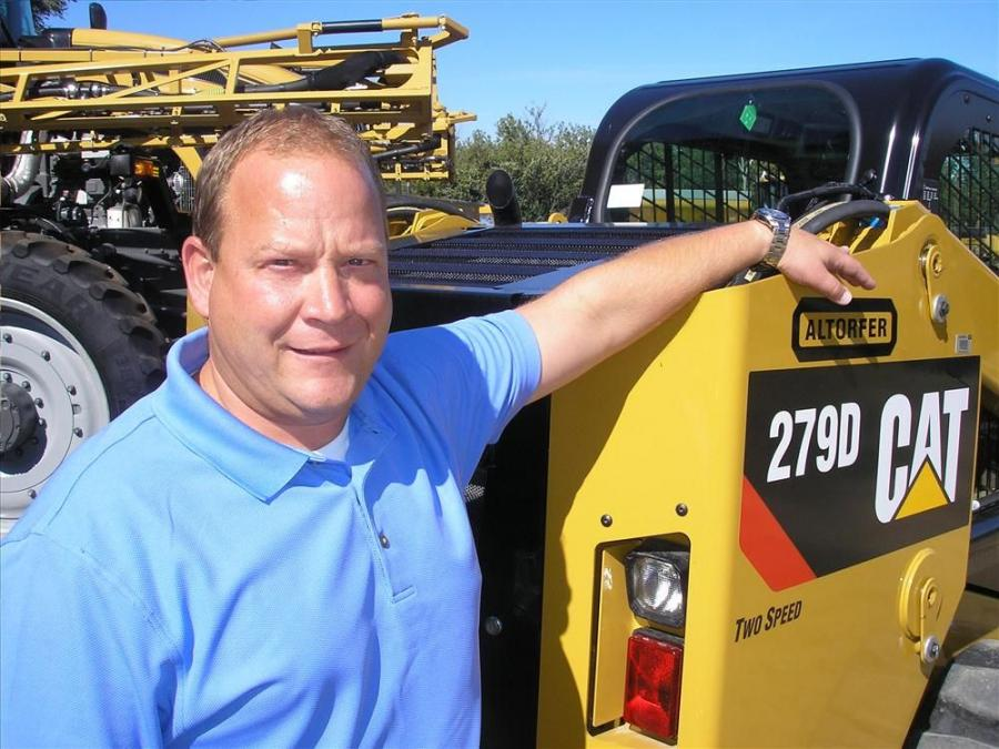 Altorfer Inc. has introduced Allen Ries as a new Cat Compact Equipment (CCE) sales representative in eastern Iowa.