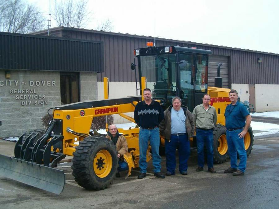 Compact Graders Find a Special Niche for Road Crews