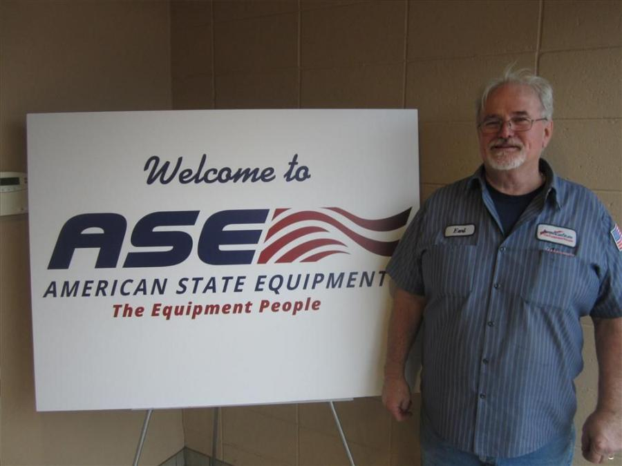 Earl Ziemer has just retired from American State Equipment after 45