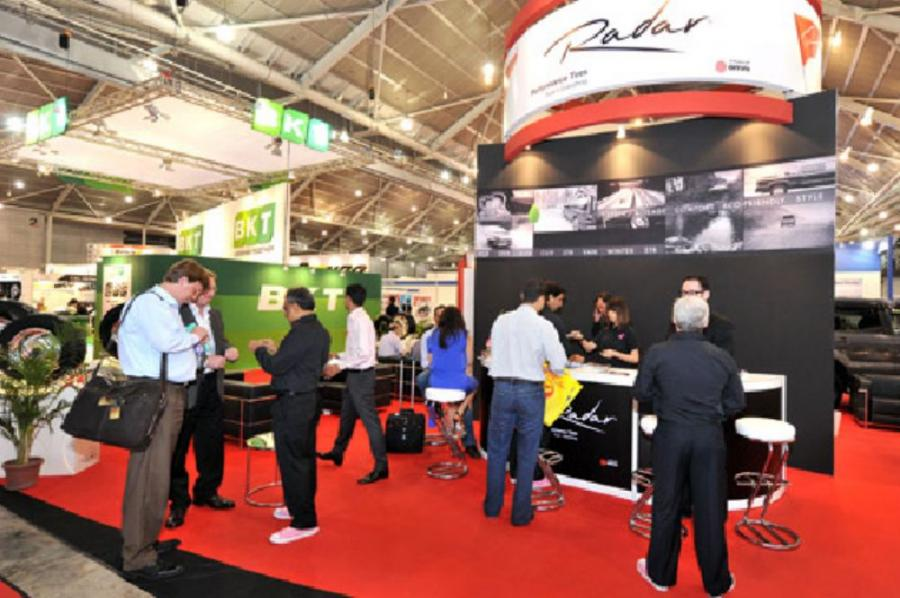 Established in 1997, the show has over 250 exhibitors involved in various aspects of the tire industry, including tire manufacturers and distributors, suppliers of retreading materials, technology and equipment, wheels, workshop machinery, tools, accessor