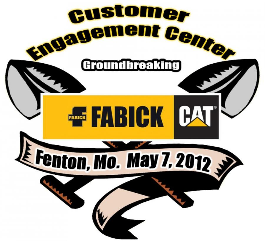 Officials with Fabick CAT will hold a groundbreaking ceremony Monday, May 7 at 10:30 a.m. to signal the start of construction on a new Customer Engagement Center.