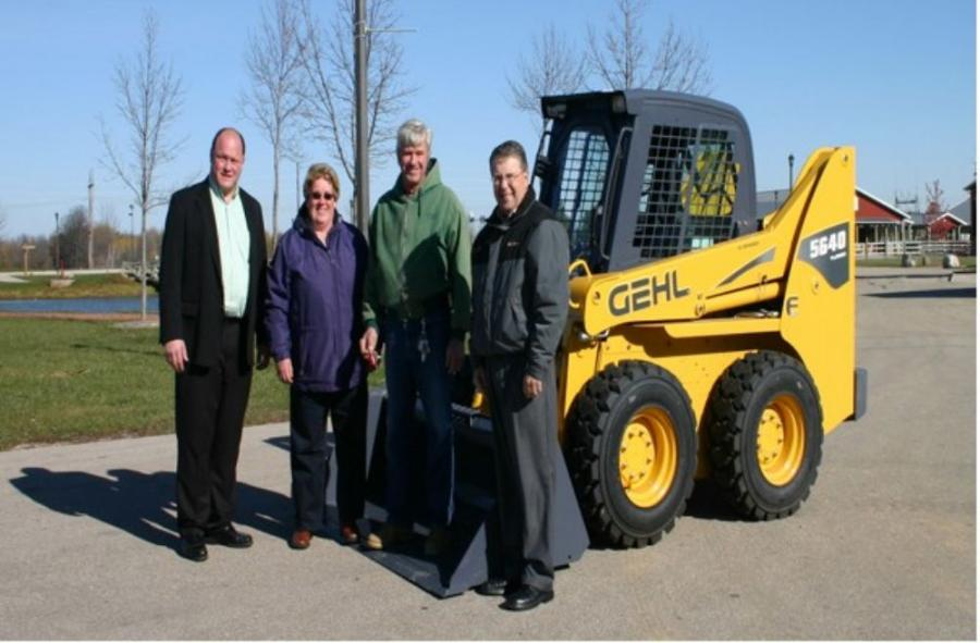 Gehl Company Donates Skid Loader To Washington County Fair Park In