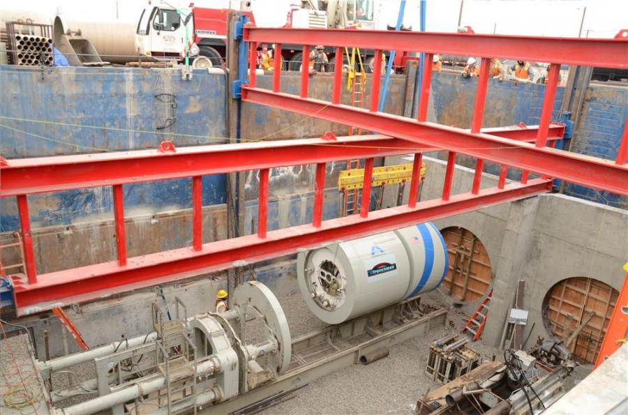 In July of 2013, BT Construction (BTC) of Henderson, Colo., was awarded the High Street Outfall Project for Denver. The project consisted of side-by-side 96 in. (244 cm) diameter storm tunnels under the Union Pacific Rail Yard, each 400 ft. (122 m) long.