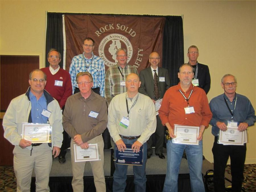 Rock Solid Safety Award winners.