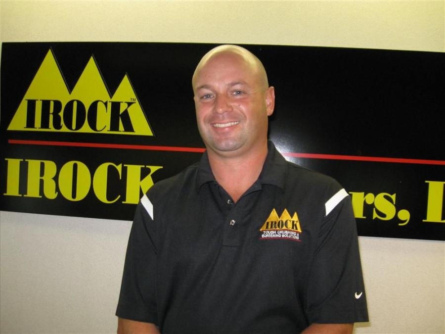 Jason Barnes is IROCK Crusher's new parts manager.