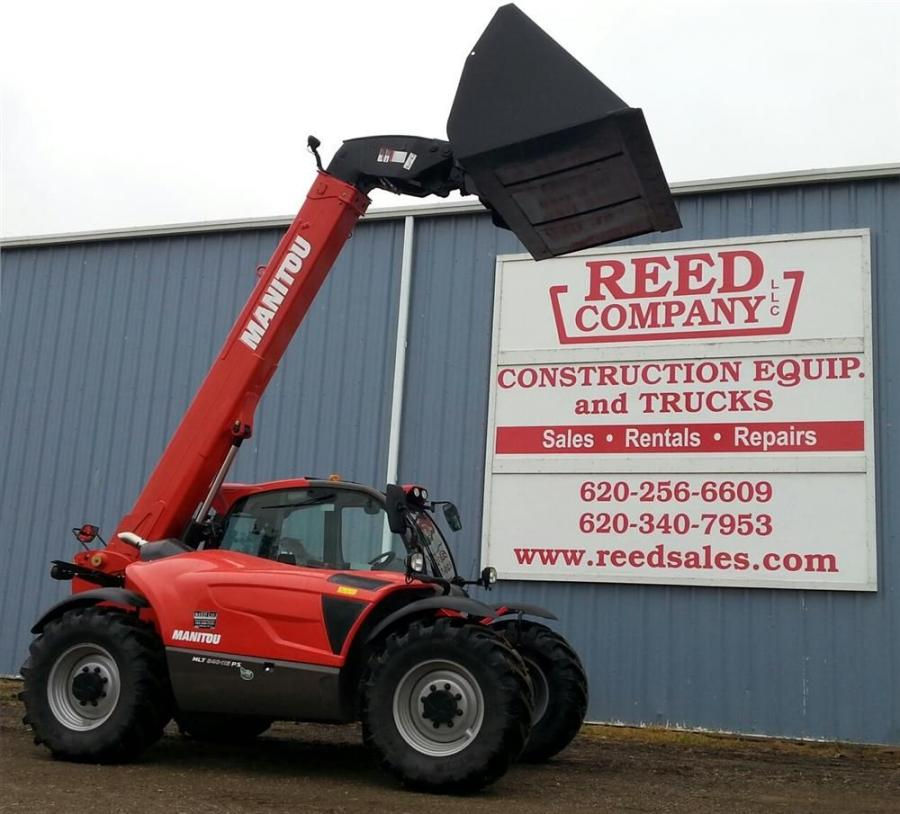 Manitou, a manufacturer of all-terrain material handling equipment, added Reed Company LLC to the Manitou dealer network.