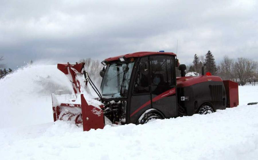 MacLean Engineering's Municipal Vehicle is designed for a variety of maintenance activities, such as snow removal, sweeping and mowing.