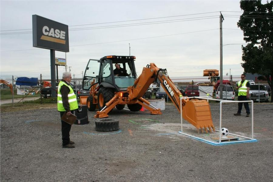 Fifty-six heavy equipment operators tested their skills during the rodeo competition.