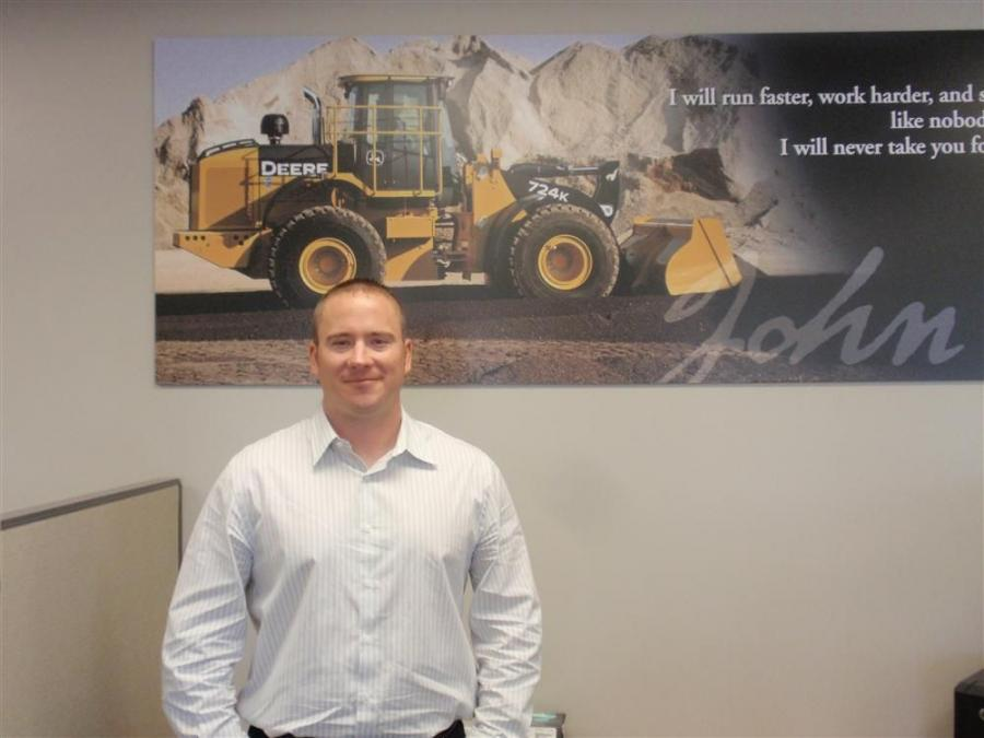 Travis Clinesmith will be responsible for new and used heavy equipment, attachments and trailer sales in southeast Kansas.
