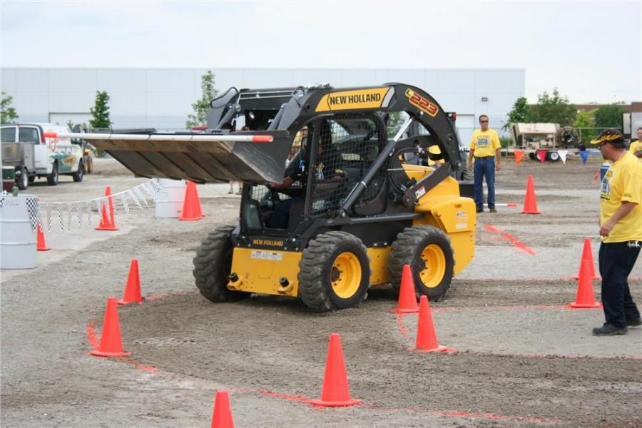 Martin Implement, the New Holland dealer in Orland Park, Ill., sponsored a New Holland Super Boom Road Show event on July 23. Skid steer operators from the greater Chicago area competed for the best time.