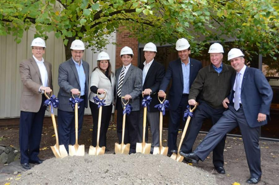 The ceremonial groundbreaking kicked off construction of the Phase 1 building project on Oct. 17 at the company's Broadview Heights facility.