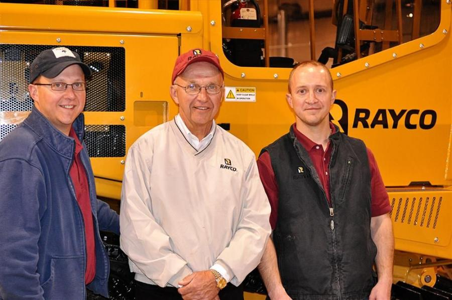(L-R): Vice President of Sales and Marketing J. R. Bowling; Owner and President John Bowling; and Sales Representative Jim Bowling.
